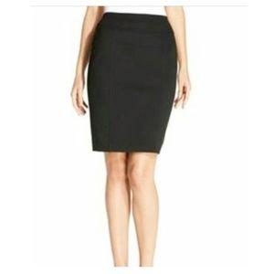 ELLEN TRACY Pull On Ponte Pencil Skirt S